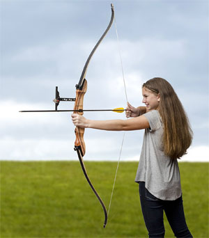 Keshes Takedown recurve children`s bow