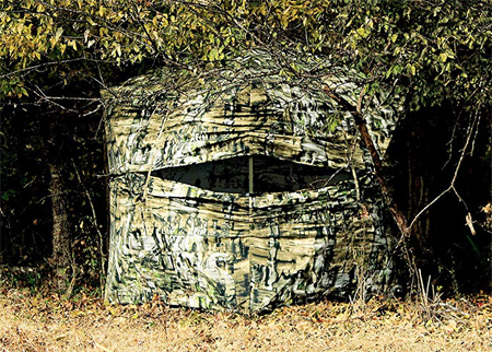 best ground blind for bow hunting