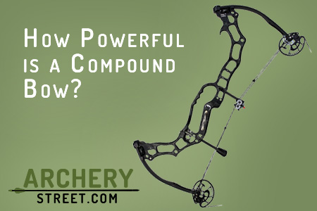 how powerful is a compound bow